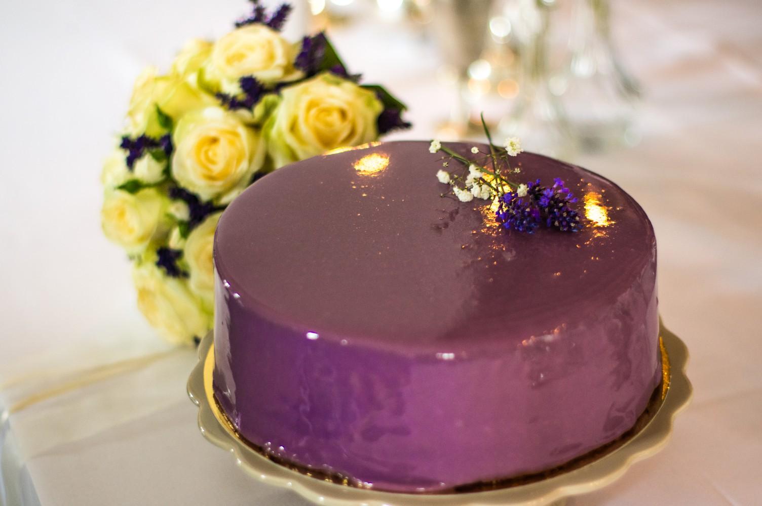 Mirror Cake von Judith und die Torten
